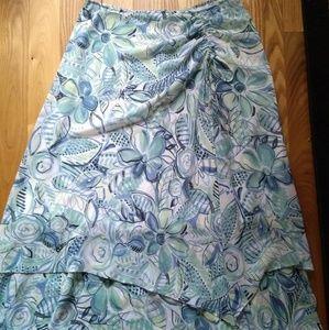 Emma James floral dressy skirt